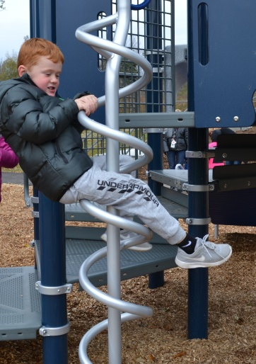 New Playground Delights at Guilford Elementary PHOTO 2